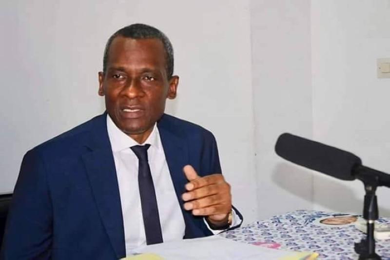 Issiaka Sangare, secrétaire général et porte-parole du Fpi. (DR)