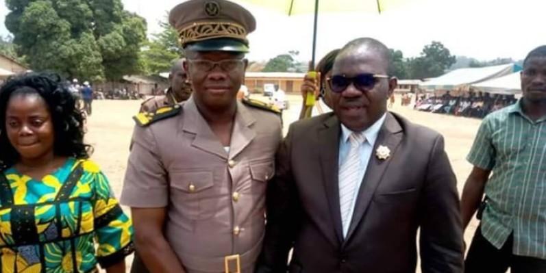 Le préfet de la région du Guémon, préfet du département de Duékoué, Ibrahima Cissé, a salué le geste du député Oula Privat. (DR)
