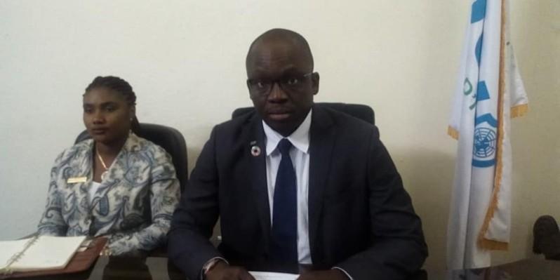 Donald Flé, président de la Jci-Ci. (DR)