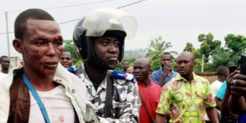 Le malfrat maîtrisé par sa victime a échappé à un lynchage grâce à l'intervention de la gendarmerie. (DR)
