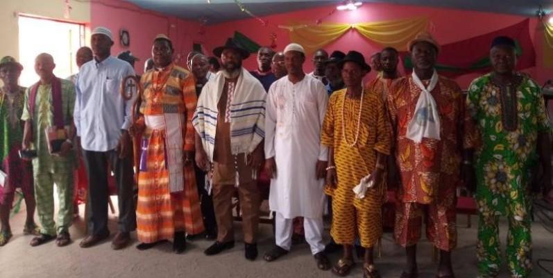 Ces leaders religieux sont déterminés à ramener, par la prière, la paix en Côte d'Ivoire. (DR)