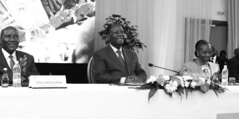 Alassane Ouattara préside, aujourd'hui, une rencontre du Conseil politique du Rhdp élargie à d'autres personnalités et aux structures spécialisées. (Dr)