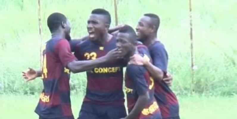 L'équipe d'Isca est bien partie pour accéder à la Ligue 2. (DR)