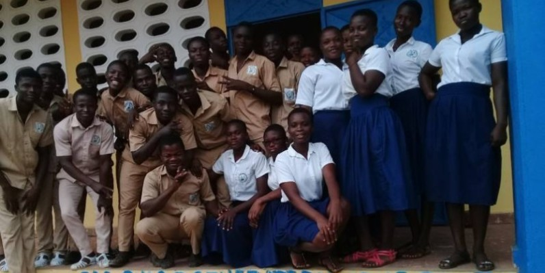"""Ces élèves de la terminale baptisés ''génération consciente"""" entendent redorer leur image. (AIP)"""
