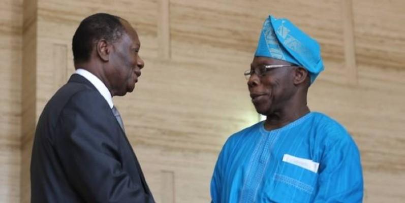 Dans une lettre, l'ancien Président du Nigeria apporte son appui au Chef de l'État.