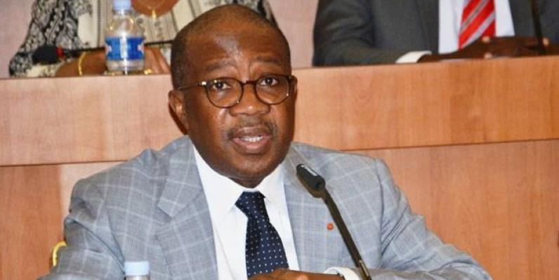 Le Garde des Sceaux, ministre de la Justice et des Droits de l'homme, Sansan Kambilé. (DR)