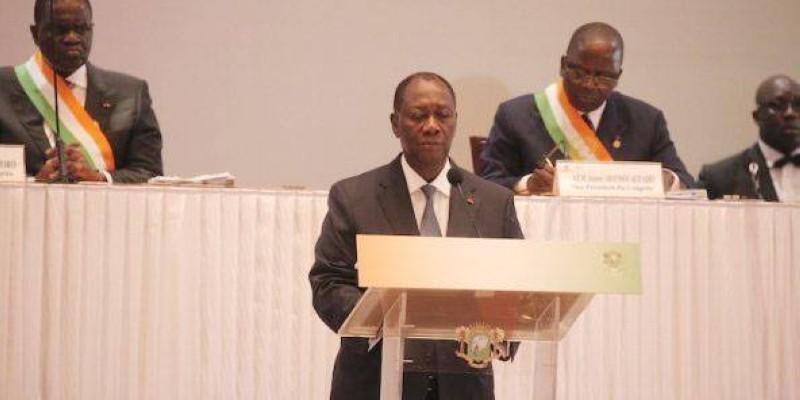 Le Président Alassane Ouattara renonce à briguer un 3e mandat. (DR)