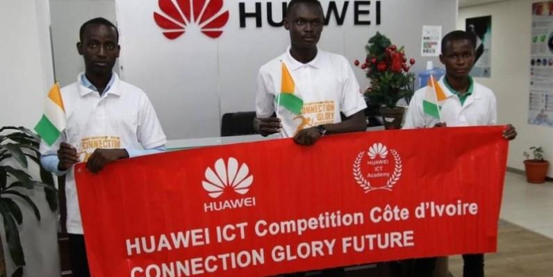 L'équipe de l'INPHB a été déclarée championne à l'issue de la compétition, au niveau national. (DR)