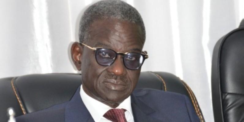 Le chef de la délégation, Doudou Ndir, président de la Commission électorale nationale indépendante du Sénégal (Monsan Julien)