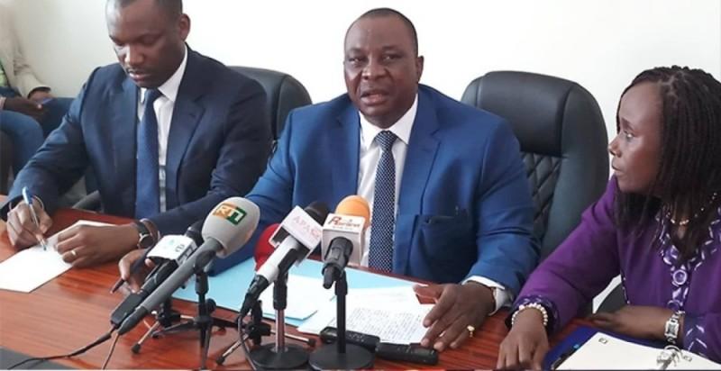 Kobenan Kouassi Adjoumani, porte-parole du Rassemblement des houphouétistes pour la démocratie et la paix (Rhdp). (Poro Dagnogo)