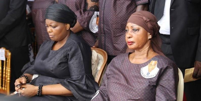 Henriette Konan Bédié, l'épouse du Président du Pdci-Rda était également à la cérémonie. (DR)