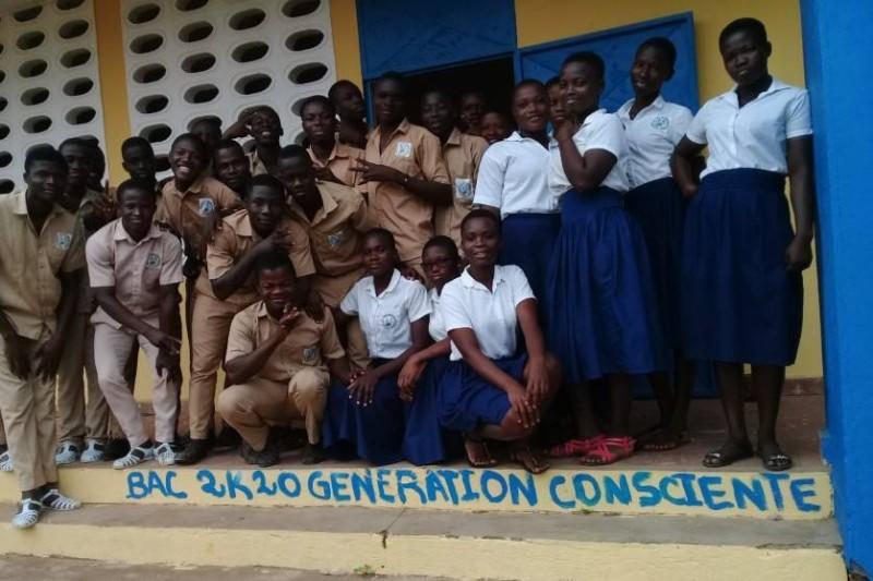 """Ces élèves de la terminale baptisés ''génération consciente"""" entendent redorer leur image.(DR)"""