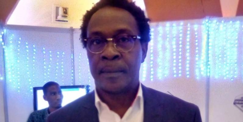 Roger NDoumy-Kouakou, président de la Chambre du droit des affaire de l'immobilier. (Franck YEO)