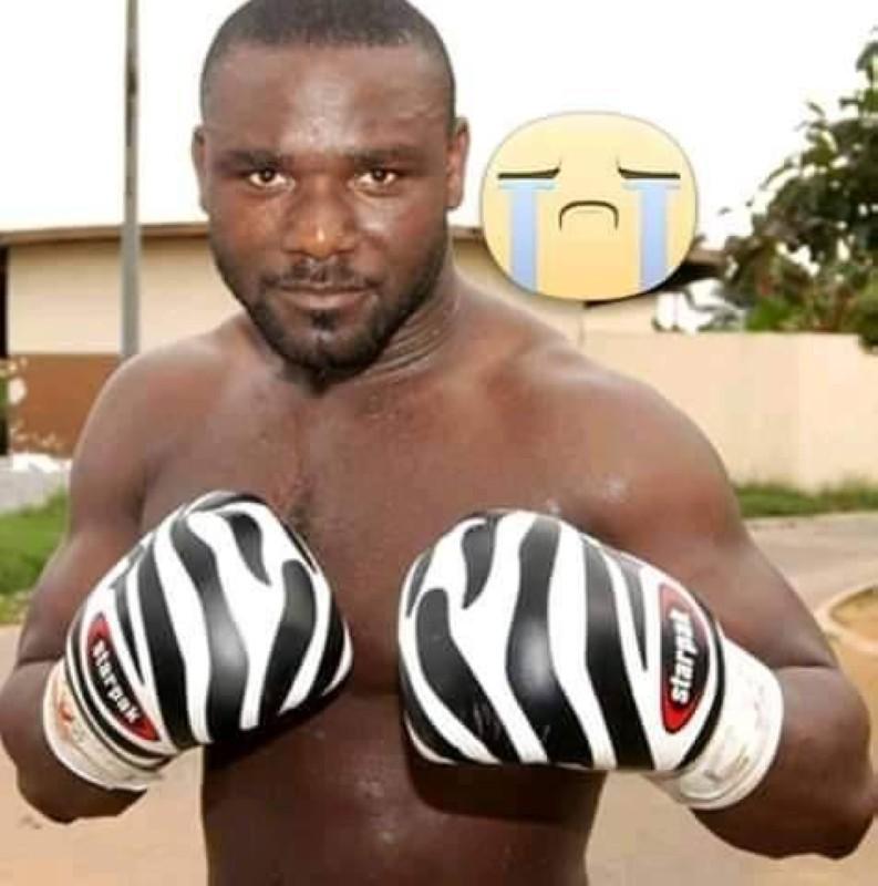 Bessé Mobio Henry dit Sony, triple champion d'Afrique dans la catégorie des lourds légers est décédé. (DR)