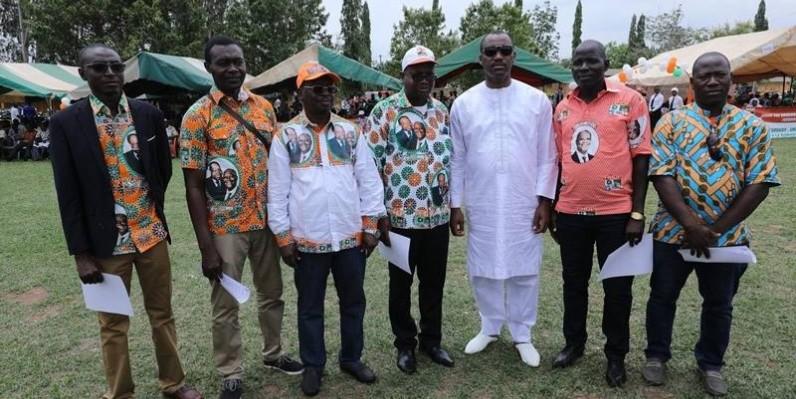 Les cadres du RHDP se disent déterminés à tout mettre en œuvre pour la victoire du candidat du parti, Amadou Gon Coulibaly, à la présidentielle de 2020. (DR)
