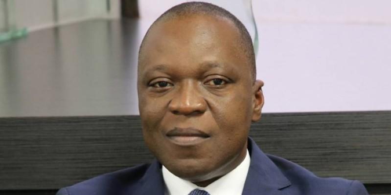 Le ministre Amadou Koné a échangé avec les acteurs du secteur. (Dr)