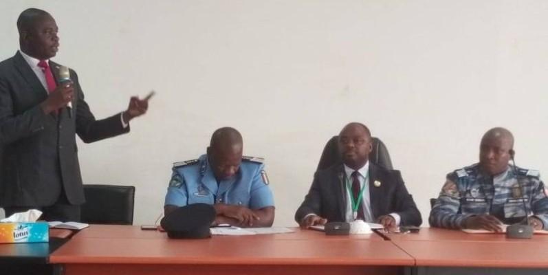Cette rencontre a permis à la police de se faire une idée de la situation sécuritaire à Port-Bouët. (DR)