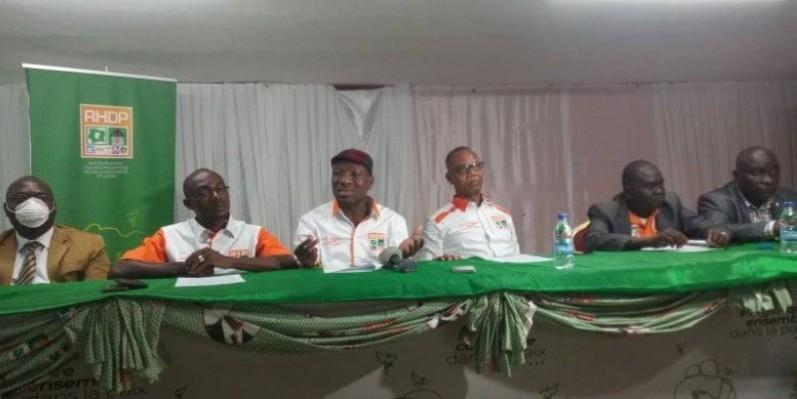 Les responsables de la 2AFESCI RHDP se disent prêts à tout mettre en œuvre pour la victoire de leur parti, à la Présidentielle 2020. (DR)