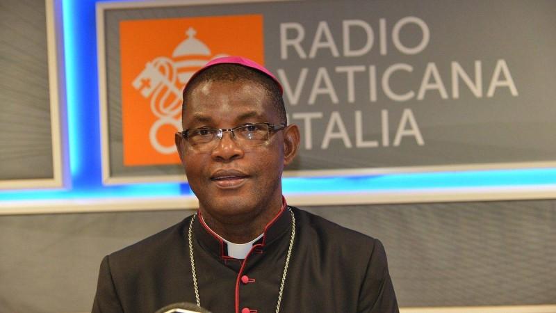 Mgr Gaspard Beby Gneba a annoncé au nom de ses pairs que le congrès des prêtres est pris en charge par eux-même. (DR)