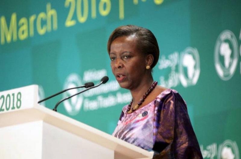 Mme Louise Mushikiwabo, Secrétaire générale de l'OIF (DR)
