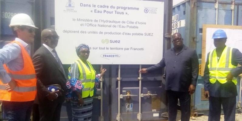 Grâce aux efforts du gouvernement, les difficultés d'accès à l'eau potable vont être résolues. (DR)