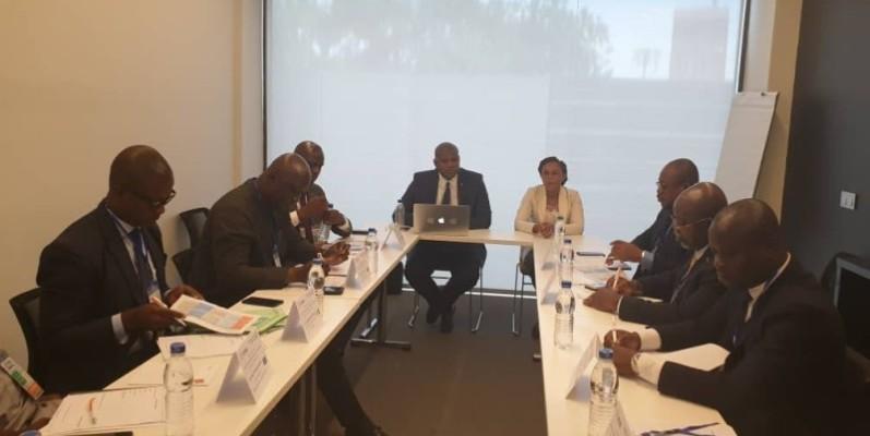 Les participants sont venus du Mali, de la Côte d'Ivoire, du Burkina Faso, du Gabon et du Togo, se mettre à niveau et partager leurs connaissances. (Dr)