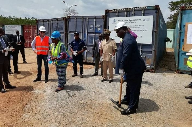 Ce projet vise à approvisionner Toumodi et les localités environnantes en eau potable.(DR)
