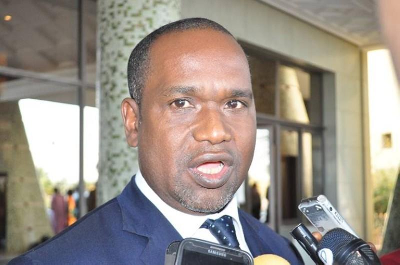 Alpha Barry, ministre des affaires étrangères du Burkina Faso