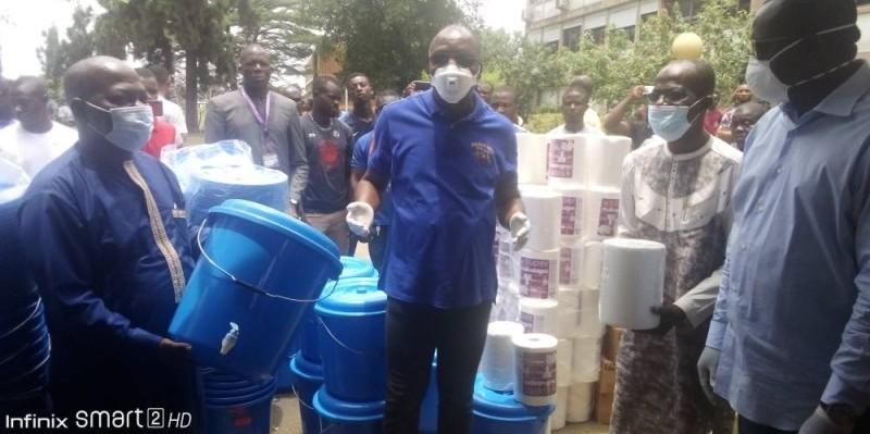 Le ministre les invite en faire bon usage pour empecher l'entrée du coronavirus dans les cités universitaires (Bavane)