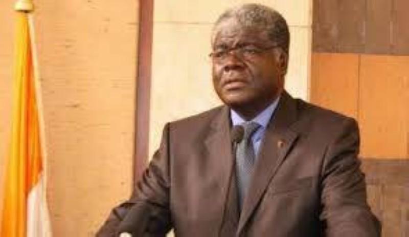 Robert Beugre Mambé, gouverneur du District autonome d'Abidjan. (DR)