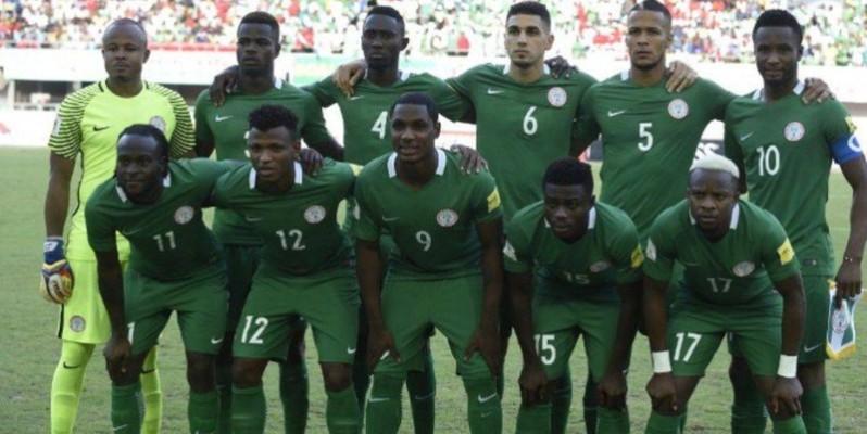 L'équipe nigeriane de football. (DR)