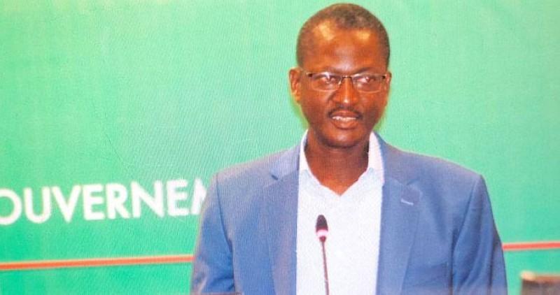 Pr Ouédraogo Martial, coordonnateur national de la réponse à l'épidémie de COVID-19. (Lefaso.net)