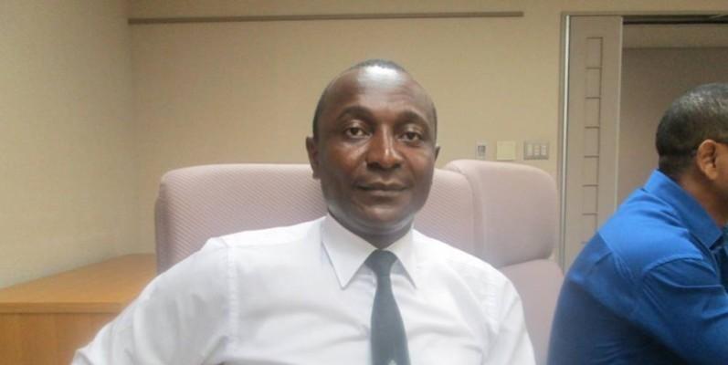 Gougou Kouadio Marcel, président du Retaci. (DR)