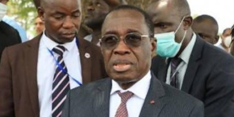 Aka Aouélé, ministre de la Santé et de l'Hygiène publique. (DR)