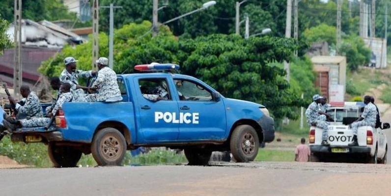 Une patrouille de police. (DR)