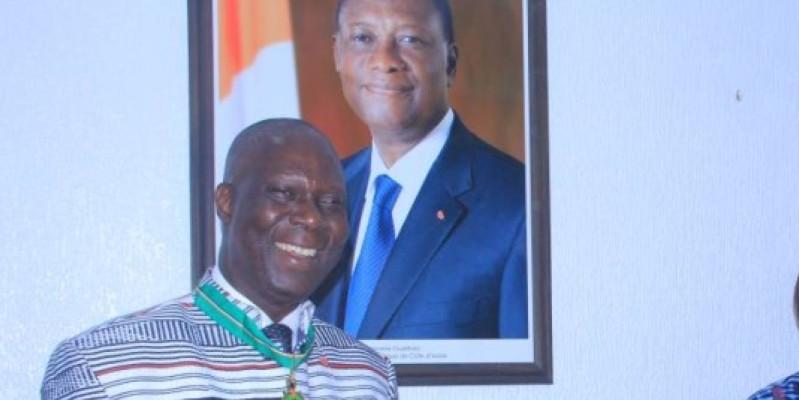 Maurice Kouakou Bandaman, exprime sa reconnaissance au Chef de l'Etat. (Dr)
