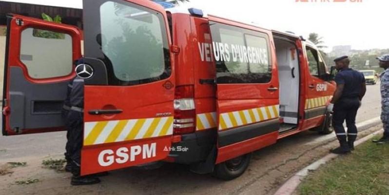Le Gspm mobilisé à porter secours afin de sauver des vies.