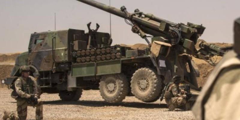 Des militaires français à Mossoul (Irak), le 13 juillet 2017. (Dr)