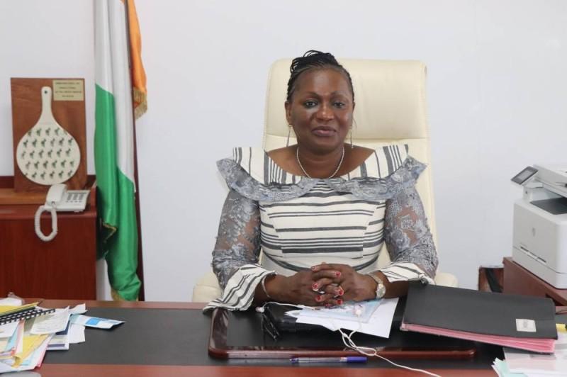 Mme Namizata Sangaré, présidente du CNDH (DR)