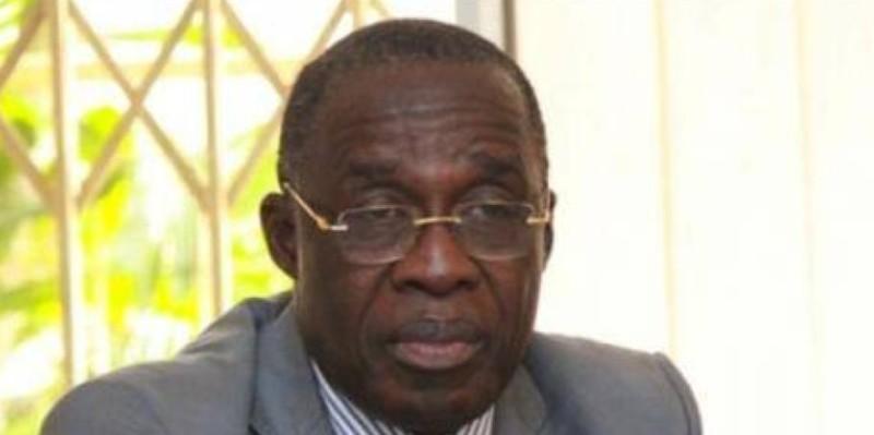 Le ministre Eugène Aka Aouélé appelle les populations au strict respect des consignes de sécurité sanitaire. (Dr)