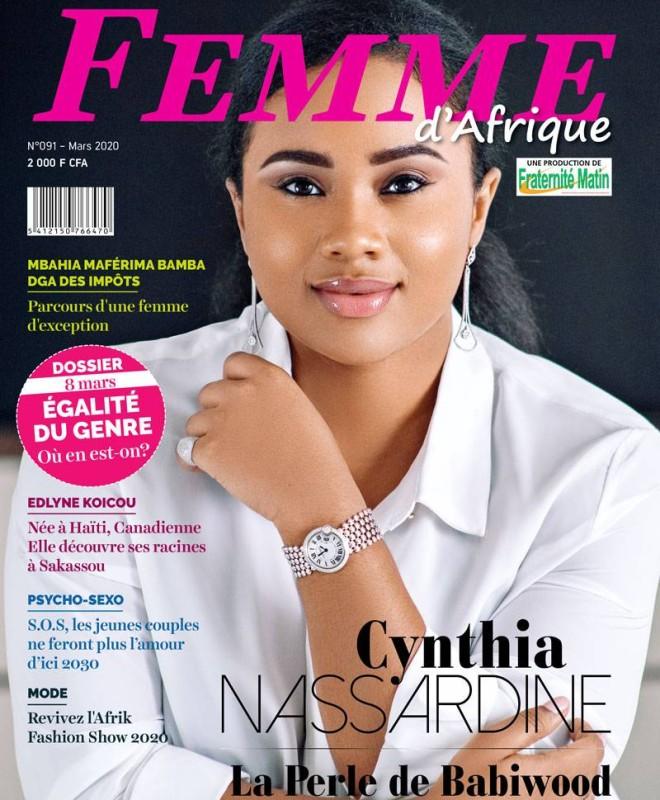 Femme d'Afrique le magazine féminin de Fraternité Matin de nouveaux dans les kiosques. (Frat Mat)