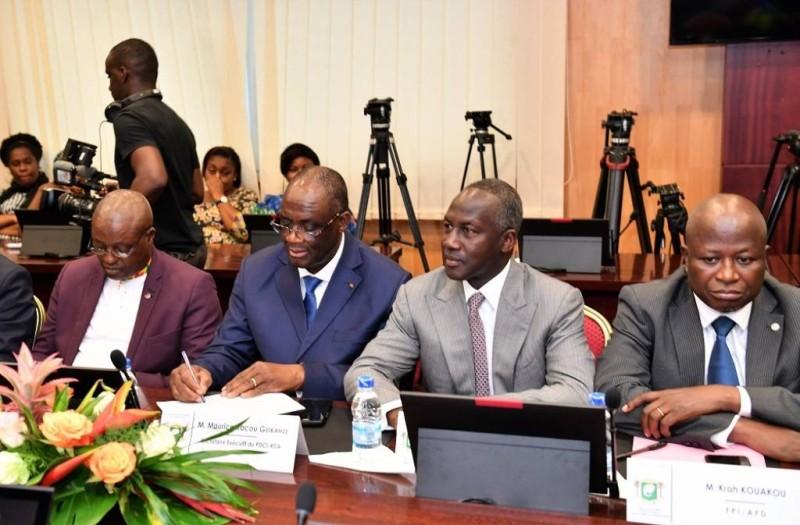 La classe politique ivoirienne