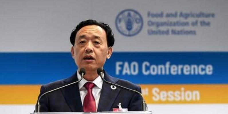 QU Dongyu, Directeur général de la Fao. (DR)