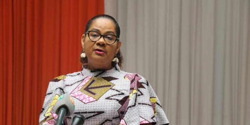 Merheb Carmen, la porte-parole de l'Assemblée nationale.