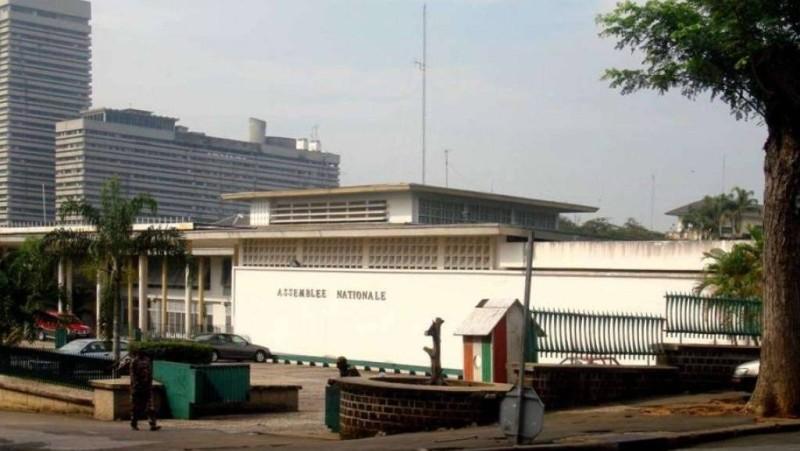 L'Assemblée nationale de Côte d'Ivoire au Plateau