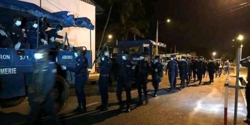 Couvre-feu à Abidjan. (DR)