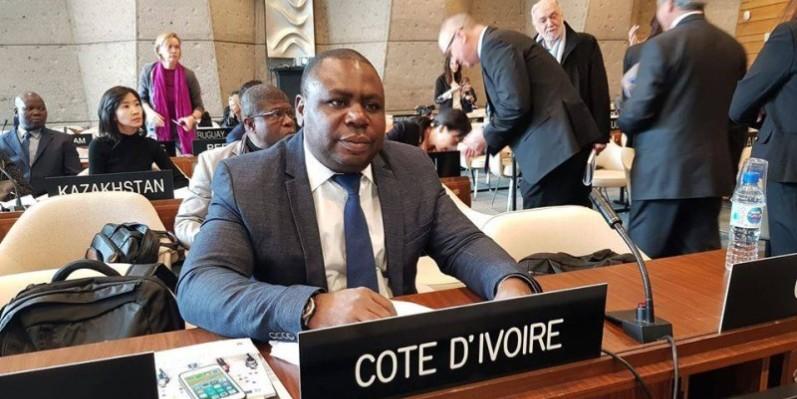 Sam Wakouboué, porte-parole adjoint de l'ISMCI. (DR)