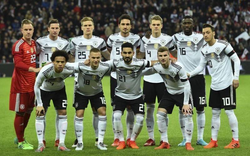 L'équipe de football allemande. (DR)