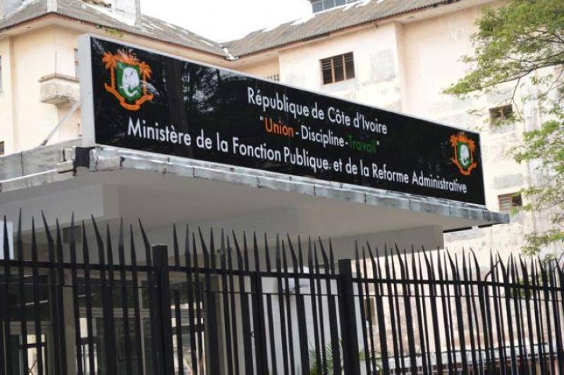 Le Ministère de la Fonction Publique.