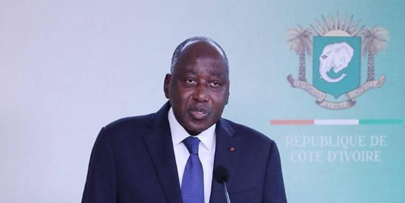 Amadou Gon Coulibaly, Premier ministre. (DR)